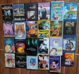 Filmes vários (DVD, VHS e Blu-ray) preços na Descrição