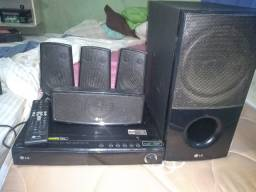 Dvd home theater LG HT806ST