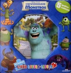 Título do anúncio: Livro Quebra Cabeças Universidade Monstro LACRADO