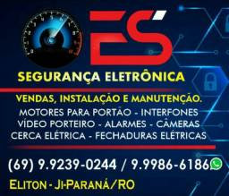 Vendas Estalaçao e manutenção em câmeras alarme portão eletrônico interfone cerca