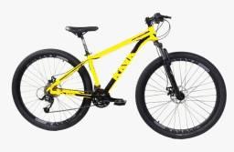Bicicleta rava pressure 24v alumínio , nova!!!