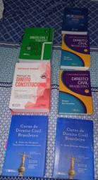 Livros de Direito (Diversos valores)