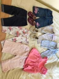 Lote roupas importadas menina 3 a 12 meses