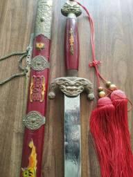Vendo espada decoração treino tai chi dragão e fênix