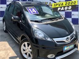 Honda Fit 2014, Twist, único dono, Cambio CVT