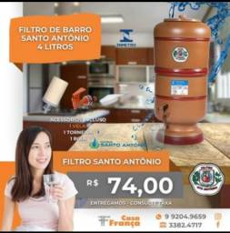 FILTRO DE BARRO-NOVO-SELO DO INMETRO