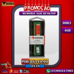 Memoria DDR3 4GB Desktop / Promoção / 4x38