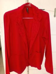 Título do anúncio: Blazer vermelho