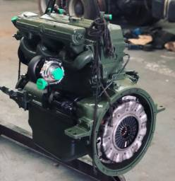 Título do anúncio: Motor om 366 La turbinado retificado completo