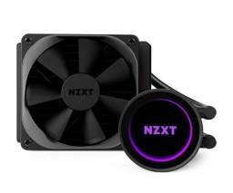 WaterCooler Nzxt Kraken M22 120mm Novo Lacrado Water Cooler - Loja Natan Abreu