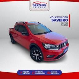 Título do anúncio: Volkswagen Saveiro CD Pepper 1.6 2019 - Troco e Financio (Aprovação Imediata)