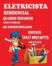 Título do anúncio: Prestador de serviços eletricos
