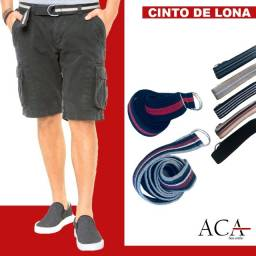 Título do anúncio: Cinto Masculino Lona ( catálogo na descrição)