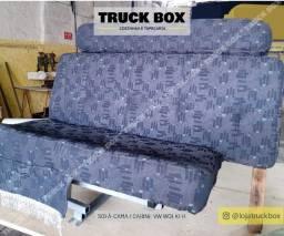 Cama gaúcha e sofá-cama para Caminhões