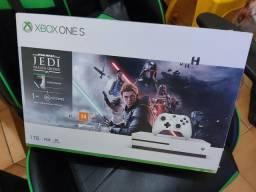 Xbox one s 1tb + jogo star wars