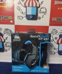 Headset Gamer PC Celular Vídeo Gamer