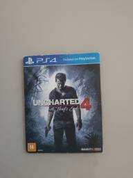 COMBO UNCHARTED 4 + INFAMOUS SECOND SON