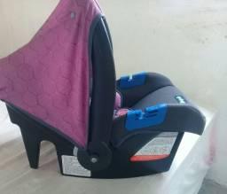bebê conforto rosa. semi novo ! usado poucas vezes
