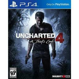 Uncharted 4 ps4 mídia fisica intacta