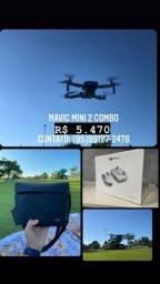 Drone mavic mini 2 combo 5.470 lacrado/novo
