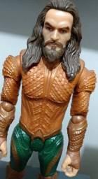 Boneco Aquaman Liga Da Justiça Mattel 30cm Articulado