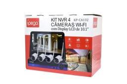 Kit câmeras de segurança wifi