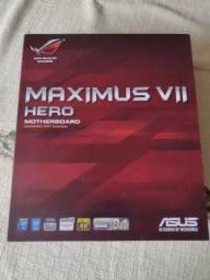 Título do anúncio: Placa mãe Asus Maximus VII Hero LGA1150