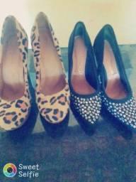 Vendo 2 pares de sapatos escarpã