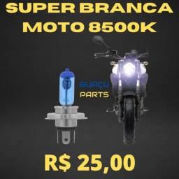 Super Branca Moto 8500k Unidade