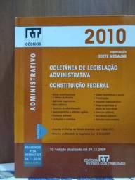 LIVRO: ADM - COLETÂNEA DE LEGISLAÇÃO ADMINISTRATIVA - CONST. FEDERAL (Leia)