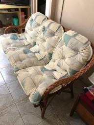 Vendo sofá em Vime ,semi novo ,para retirar no Santa Cândida ...Valor R$ 500,00