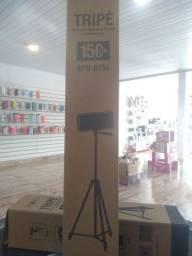 Promoção tripé profissional 150cm suporte pra celular e bolsa