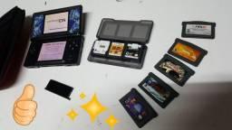 Nintendo DS mais jogo e estojo (Dúvidas!!! Leia a descrição.)