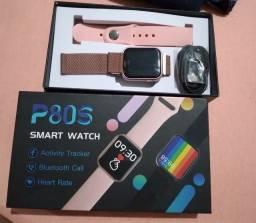 Smart watch p80s funções completas!