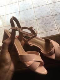 Vendo sapato villa rosa ,cor nude