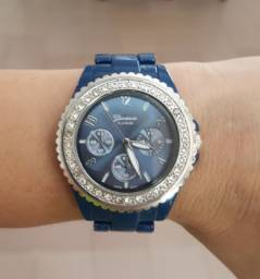 Relógio importado Geneva Platinum