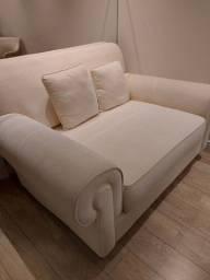 Sofá retrátil de 2 lugares super confortável