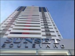 Apto p/ locação no Ed. Sunset Boulevard