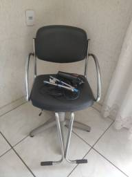 Cadeira hidráulica + secador + chapinha