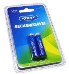 Pilhas Recarregável Aaa 1.2v 1100mah Knup