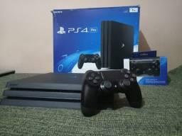 PS4 PRO c/ 3TB e mais de 100 jogos originais *OPORTUNIDADE*