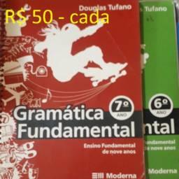 Gramática fundamental 6,7 - R$ 50 cada
