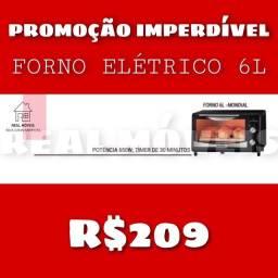 Promoção imperdível forno elétrico de 6 litros entrega gratuita Goiânia