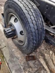 Roda de caminhão sem câmara