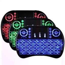 Mini teclado com Bluetooth