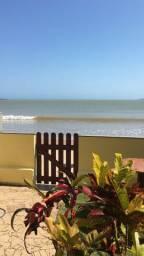 Casa MARAVILHOSA na areia da praia