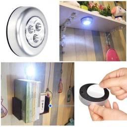 Título do anúncio: Lâmpada sem Fio com 3 LEDs para Armário/Cozinha/Luz Noturna