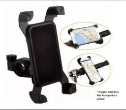 Suporte de Guidão Universal para Motos, Bikes, GPS e Celular