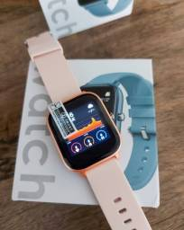 Relógio Smartwatch P8 coloca foto