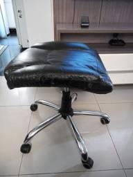 Base P/ Cadeira Diretor/presidente Com Relax Base Cromada C/ Assento